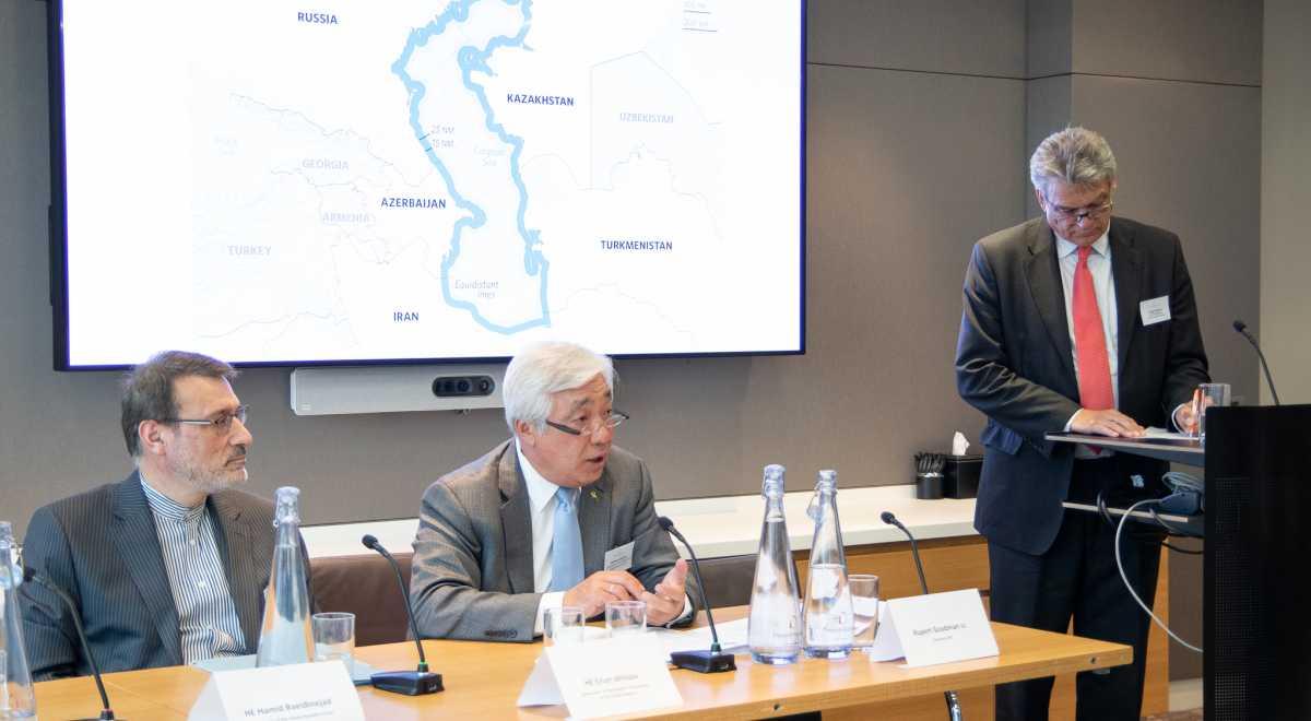 Aktau Convention on Caspian Sea discussed in London